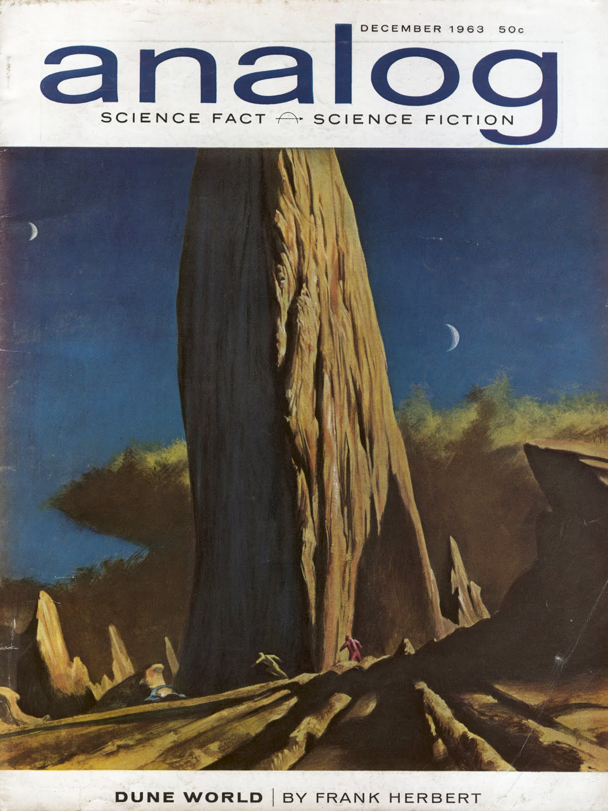 Analog Dec 1963 Dune World J. Schoenherr
