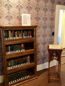 Howard's collection of books. Roughly 70 works out of his 300-book library that was donated to Howard Payne College in Brownwood after his death have been re-acquired by the museum.