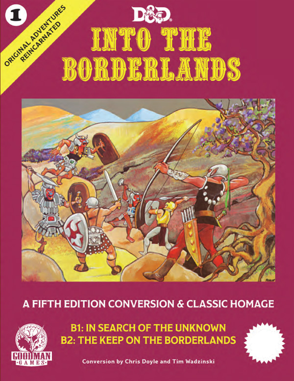 Into The Borderlands – REVISION