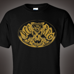 Tee Party: Demon Skull Style!