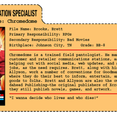 G.G. Joe File Card: Chromedome