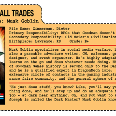 G.G. Joe File Card: Musk Goblin