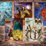 Announcing Cover art for the DCC Lankhmar Adventures