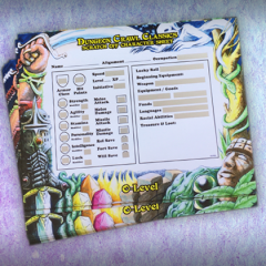 How To Use: Scratch-Off Character Sheets