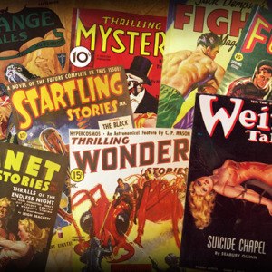 Vintage Pulp Mags Back In Stock!
