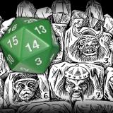 Tower of Faces Drop Die Table!