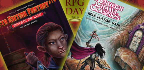 Announcing our Free RPG Day Releases!