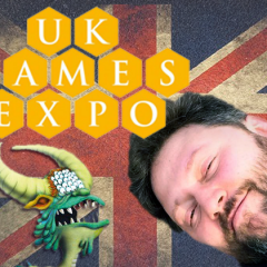 Game With Us at the UK Games Expo + Two Stores!