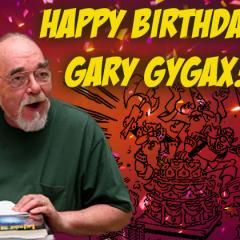 Happy birthday, Gary Gygax!