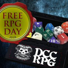 Road Crew! Free DCC Penny Tray for Free RPG Day Games
