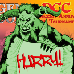 New Gen Con Tournament Slots Added!