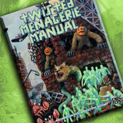 Now in our Online Store: Twisted Menagerie Manual + Big Restock