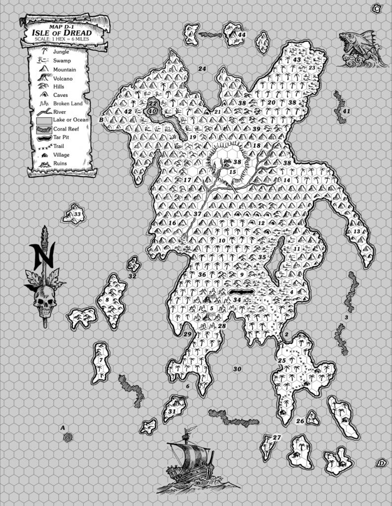 Isle-of-Dread-Map-D1-ISle-of-Dread-GMs-Map