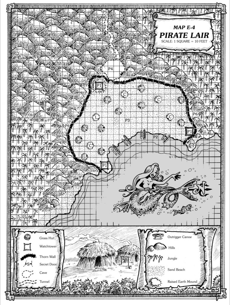 Isle-of-Dread-Map-E-4-Pirate-Lair