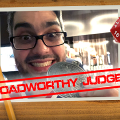 Roadworthy: Judge Diogo!