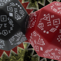 New In The Online Store: The D-Total and Zocchihedron D100!