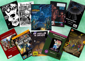 NOW AVAILABLE: DCC Halloween Module, Star Crawl, Back to BasiX #6, and Other Third Party DCC Supplements!