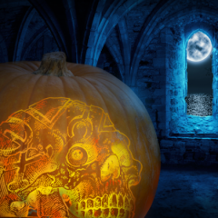The Magician's Skull Wishes You a Happy Halloween!
