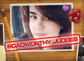 Roadworthy: Judge Tahlia!