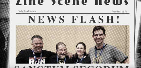 Zine Scene News Flash: Sanctum Secorum