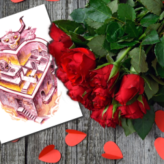 Free Valentine's Day Card With Purchase From Our Online Store