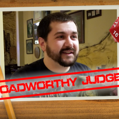Roadworthy: Judge John Replogle!