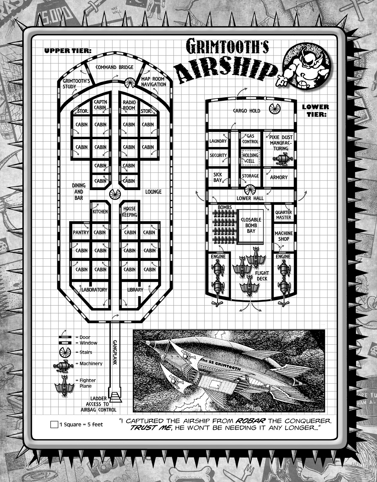 MAP Airship page
