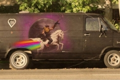 RainbowFartUnicornVan