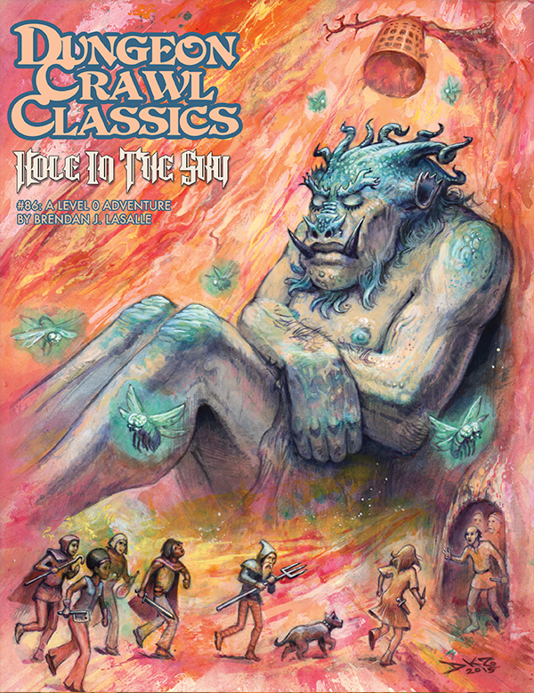 Cover of Dungeon Crawl Classics #86: Hole in the Sky
