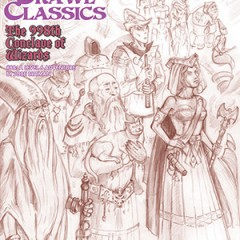 Dungeon Crawl Classics #88: The 998th Conclave of Wizards – Sketch Cover