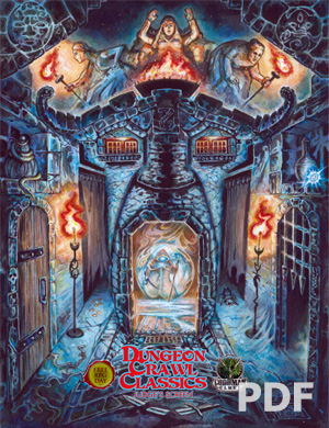 Dungeon Crawl Classics Judge's Screen - Free RPG Day 2015 PDF