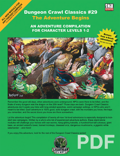 DCC #29: The Adventure Begins