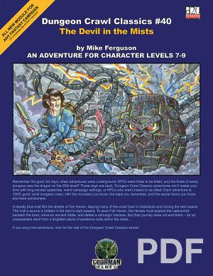 Dungeon Crawl Classics #51: Castle Whiterock PDF|Goodman Games Store