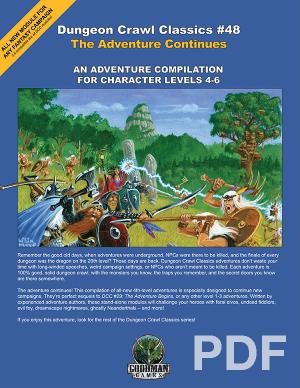 Dungeon Crawl Classics #39: DM Screen and Adventure PDF