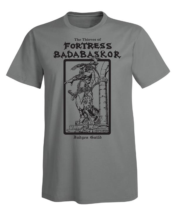 Judges Guild Fortress Badabaskor T-Shirt