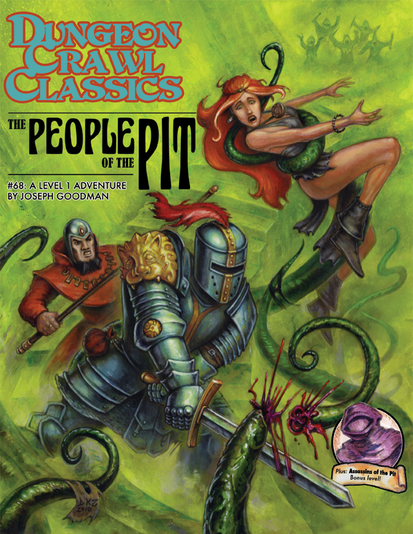 Cover of Dungeon Crawl Classics #68: The People of the Pit