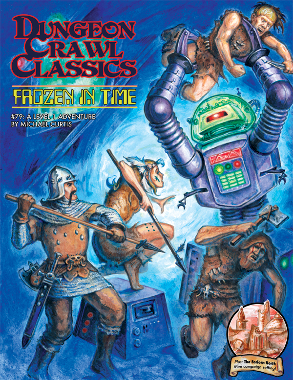 Cover of Dungeon Crawl Classics #79: Frozen In Time