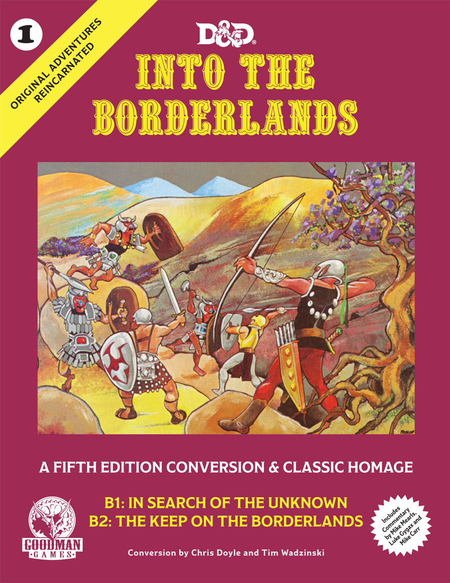 Cover of Into the Borderlands