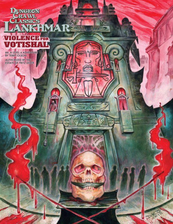 4: Violence for Votishal: Dungeon Crawl Classics RPG Lankhmar (T.O.S.) -  Goodman Games