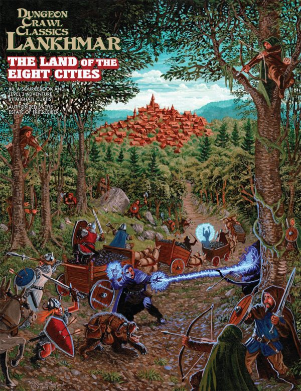 8: The Land of Eight Cities: Dungeon Crawl Classics RPG Lankhmar (T.O.S.) -  Goodman Games