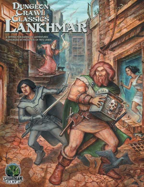 Lankhmar Boxed Set: Dungeon Crawl Classics RPG Lankhmar (T.O.S.) -  Goodman Games