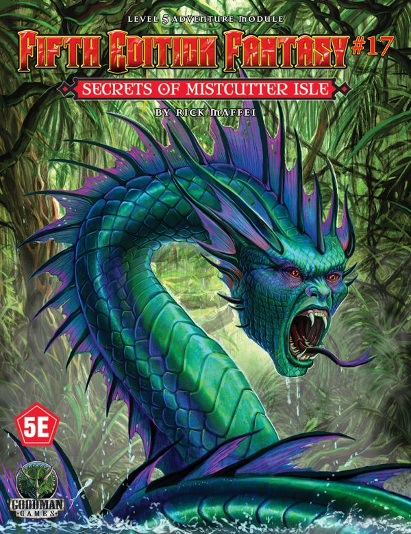 17 Secrets of Mistcutter Isle: Fifth Edition Fantasy -  Goodman Games