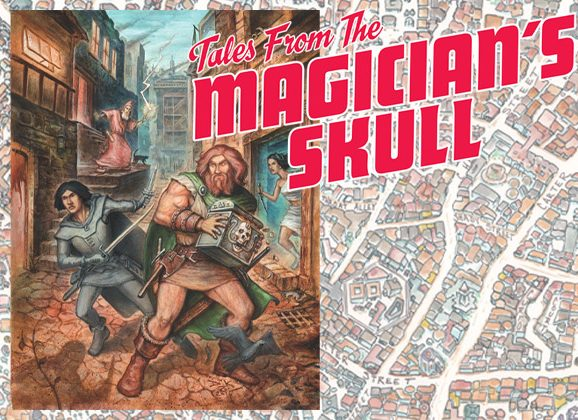All-New Fafhrd and the Gray Mouser Stories To Be Published in Tales From The Magician's Skull