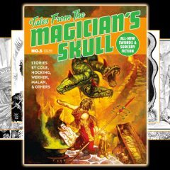 Sip From the Skull's Cup If You Dare! Six Mighty Tales Await!