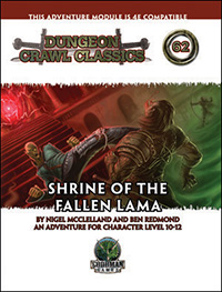 DCC #62: Shrine of the Fallen Lama