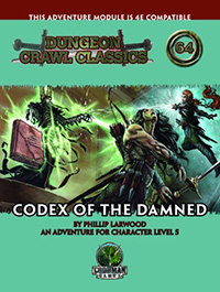DCC #64: Codex of the Damned