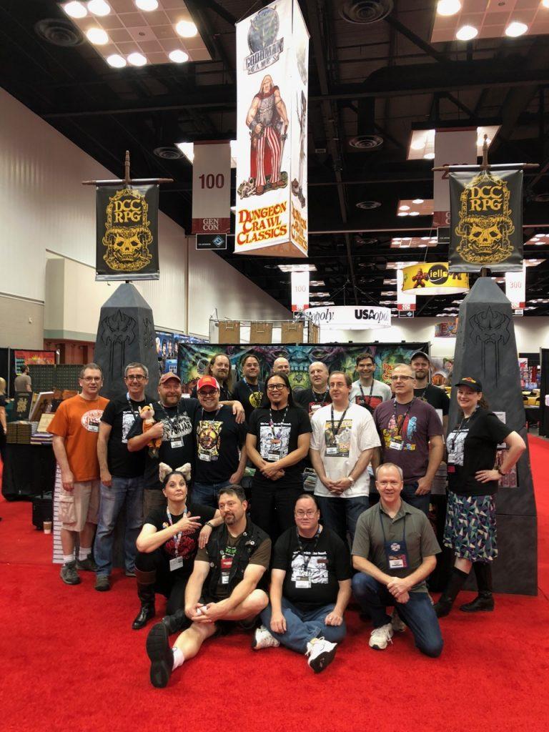 The Goodman Games gang at Gen Con 2018!