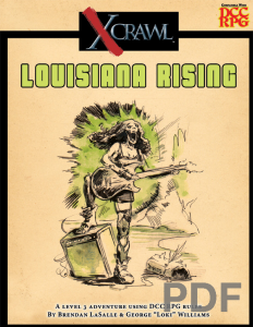 Xcrawl Louisiana Rising
