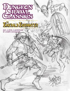 The Emerald Enchanter sketch cover
