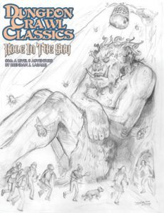 Hole in the Sky Sketch Cover